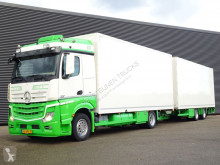 Mercedes box trailer truck Actros