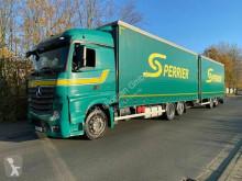 Lastbil med släp flexibla skjutbara sidoväggar Mercedes Actros Actros 2545 Komplettzug/Retarder/Euro 6/Lenk und