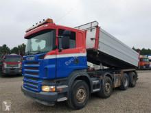 Camión Scania R500 8x4 Pendel Euro 3 volquete usado