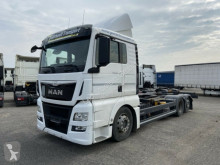Camión MAN TGX 26.440 6 x 2 LL BDF- Wechsel LKW chasis usado