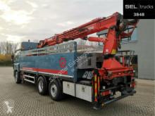 Camião DAF CF 85.410 T / Lenkachse / MKG Kran 25,20 m estrado / caixa aberta usado
