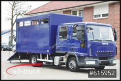 Camión lona Iveco ML80E18D, Pferde, 7 Sitze, Doka Tüv 11/21