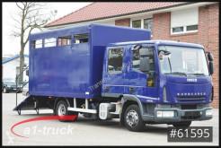 Camión remolque para caballos Iveco ML80E18D, Pferde, 7 Sitze, Doka Tüv 11/21