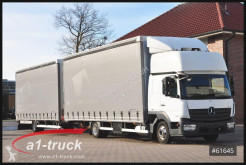 Camión remolque lona corredera (tautliner) Mercedes Atego 823 Atego, Jumbo, Automatik Komplettzug