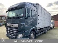 "Camion van à chevaux DAF XF 480 ""Neu"" Menke 3 Stock Hubdach"