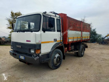 Iveco Turbo truck used three-way side tipper