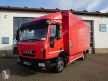 Camión caja abierta transporte de bebidas Iveco Eurocargo ML120EL21 Getränkepritsche+LBW