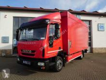 Camión lona Iveco Eurocargo ML120EL21 Getränkepritsche+LBW Edscha