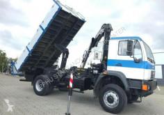 Camião MAN LE 18.280 4x4 HIAB 122 Cran Kran Kipper basculante usado