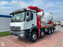 Camion béton malaxeur + pompe Mercedes Arocs 4143