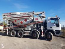 Camion Iveco Eurotrakker 440 calcestruzzo betoniera mescolatore + pompa usato