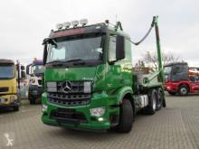 Mercedes skip truck Arocs 2540 L 6x2 Absetzkipper Meiller, Funk