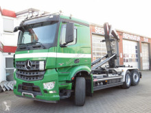 Camion multiplu Mercedes Arocs 2540 L 6x2 Abrollkipper Meiller Schub+Knick