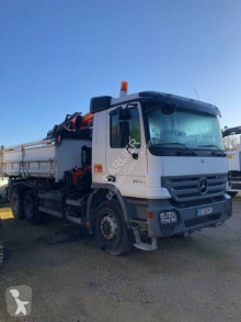 Mercedes two-way side tipper truck Actros 3341
