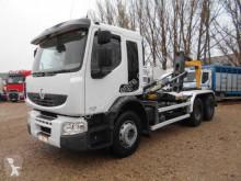 Camión Gancho portacontenedor Renault Premium Lander 430 6x4