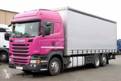 Kamión valník s bočnicami a plachtou Scania R 410 6X2*4 Schiebeplane Lenkachse etade ACC