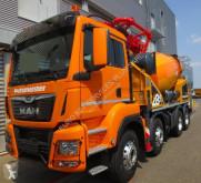 Camión hormigón mezclador + bomba MAN TGS