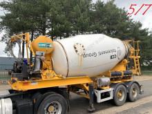 Semitrailer betong blandare MOL 7x (5/7) LT AUTOMIX AM 10m³ - BELGISCHE PAPIEREN / PAPIERS BELGES - 2 AS BPW - LUCHTVERING - IMER AUTOMIX