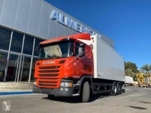 Scania G 410 truck used plywood box