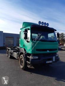 Camión Gancho portacontenedor Renault Kerax 420 DCI