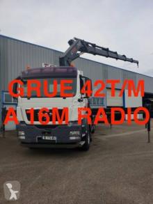 Camión MAN TGS 26.440 caja abierta teleros usado