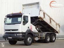Renault three-way side tipper truck Kerax 370