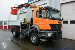 Kamion Mercedes Axor 1829 4x4 Kran + Arbeitskorb - Winterdienst trojitá korba použitý