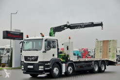 Camion MAN TGS 35.360/ 8x4/ TOW + CRANE FASSI F170 / RADIO plateau occasion