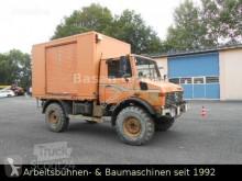 Camion fourgon Mercedes Unimog U1450 , 437/20