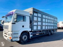 Camion MAN TGA 26.400 remorcă transport animale second-hand