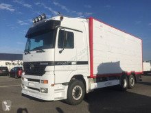 Mercedes Actros 2553 truck used livestock trailer