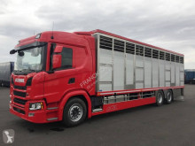 Camion remorcă transport animale Scania G 410