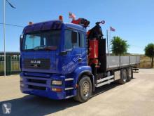Camião MAN TGA 26.360 estrado / caixa aberta usado