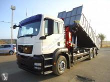 Camião MAN TGS 26.320 estrado / caixa aberta usado
