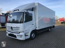 Camião Mercedes Atego 816 Koffer 6 m Schaltgetriebe LBW TÜV Neu furgão usado