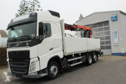 Camion plateau ridelles Volvo FH 500 6x2 Baustoff*Globetrotter,Palfinge