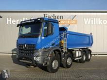 Mercedes billenőkocsi teherautó Arocs 4142, 8x6, 15m³ Carnehl Mulde, Blatt,Klima