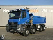 Camión multivolquete Mercedes Arocs 4142, 8x6, 15m³ Carnehl Mulde, Blatt,Klima