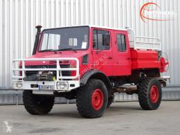 Unimog fire truck U 1550 L U1550 L (437) Mercedes Benz, Doppelkabine, SIDES CCF2000 ltr. - Expeditievoertuig, Camper