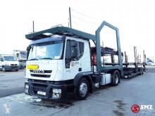 Vrachtwagen met aanhanger autotransporter Iveco Stralis