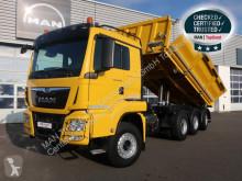 Camión volquete volquete trilateral MAN TGS 35.460 8X4-4 BL/ Meiller Bordmatik