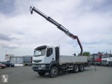 Camión caja abierta teleros Renault Kerax 410
