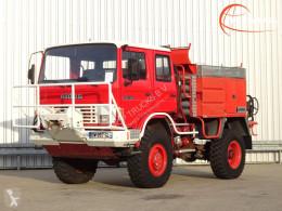 Camión Renault 110 150 feuerwehr - fire brigade - brandweer - Lier, Winch, Winde - Expeditie - Sides CCF 30 bomberos usado
