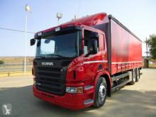 Camión Scania lonas deslizantes (PLFD) usado