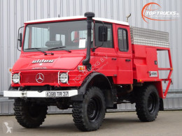 Camión bomberos Mercedes Unimog U 650 L (407) Unimog / Benz, Doppelkabine, - Expeditievoertuig, Camper