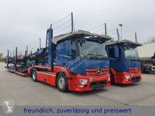 Mercedes Actros *ACTROS 1843* RETARDER*ACC*XENON*LOHR AUFBAU* 2x tractor-trailer used car carrier