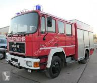 Camion MAN 12.222 TLF 16/25 4X4 DoKa AHK FEUERWEHR LÖSCHFAH