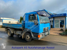 MAN three-way side tipper truck 8.163 Kipper Dreiseitenkipper