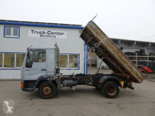 MAN three-way side tipper truck 10.163 8.163 Kipper 2 x AHK 3-Sitzer
