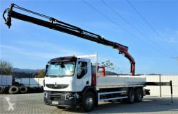 Camión Renault Premium 370 DXI Pritsche 7,00m+Kran*Topzustand! caja abierta usado